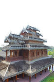 Tai Yai's Buddhist Temple — Stock Photo