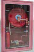 Fire Extinguisher Engine — Stock Photo