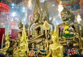 Seated Buddha Images — Stock Photo