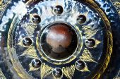 Big Gong,Thai Music Instrument Relating Religion — Stock Photo