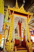 Pulpit for Thai Monk to Give a Sermon to Buddhist — Stok fotoğraf