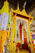 Pulpit for Thai Monk to Give a Sermon to Buddhist — Stockfoto