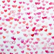 Watercolor hearts — Stock Photo #63872551