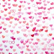 Watercolor hearts — Stock Photo #63872555
