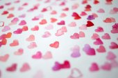 Blurred watercolor heart — Stock Photo