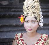 Cambodian lady dancer Cambodia Siam reap — Stock Photo