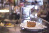 Italian traditional cake dessert in restaurant cafe — Stock Photo