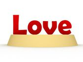 Love sign — Stock Photo