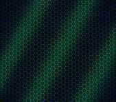 Blue & green honeycomb — Stock Photo