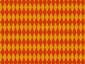 Orange Pattern in rhombus — Stock Photo