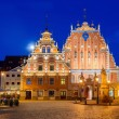 House of Blackheads in Riga — Stock Photo #59849971