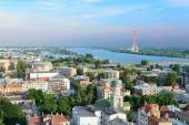 Aerial view of Riga. — Stock Photo