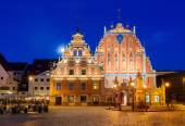 House of Blackheads in Riga — Stock Photo