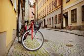 Bicycle in Stockholm — Stock Photo