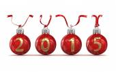 New year 2015 — Foto Stock