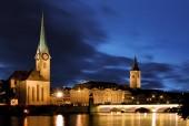 Fraumunster - Zurich — Stock Photo