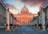 罗马,梵蒂冈城 — 图库照片