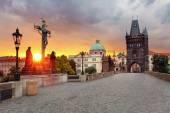 Prague View from Charles Bridge — Stock Photo