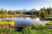 Slovakia nice lake — Stock Photo