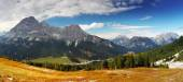 View of dolomites, Italy alps — Stock Photo
