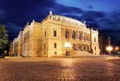 Rudolfinum, music auditorium in Prague — Stok fotoğraf
