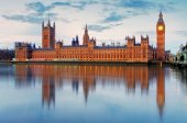 Houses of Parliament in UK — Stock Photo