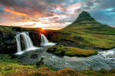 Iceland hills — Stock Photo