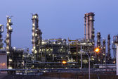 Oil indutry refinery - factory — Stock Photo