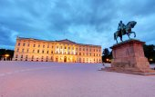 Royal palace in Oslo — Stock Photo