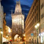 Prague - Powder tower — Stock Photo #55920463