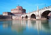 Angelo Castel in Rome — Stock Photo