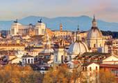Skyline de rome — Photo