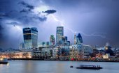 City of London, UK — Stock Photo