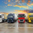 Truck - Freight transportation — Stock Photo #58255091