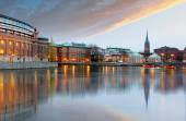 Stockholm, Sweden. Riksdag (parliament) building. — Zdjęcie stockowe