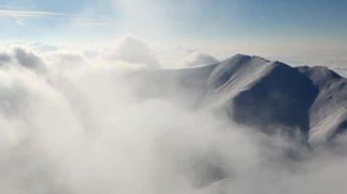 Winter Slovakia mountain - Time lapse — Stock Video