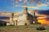 Old Castle in Span - Manzanares — Stock Photo