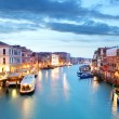 Grand Canal - Venice from Rialto bridge — Stock Photo #64905473