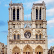 Notre Dame at sunrise - Paris, France — Stock Photo #65516423
