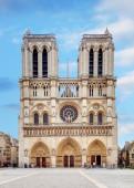 Notre Dame at sunrise - Paris, France — Photo