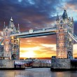 London - Tower bridge, UK — Stock Photo #66204809