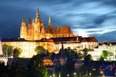 Burg in prag — Stockfoto