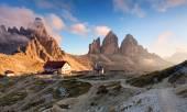 Italy Alps moutnain - Tre Cime di Lavaredo — Stock Photo