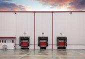 Banchine di carico — Foto Stock