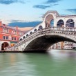 Venice - Grand canal from Rialto bridge — Stock Photo #68137075