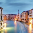 Venice - Grand canal from Rialto bridge — Stock Photo #68137479