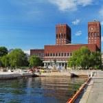 City Hall - Radhuset, Oslo, Norway — Stock Photo #70087781