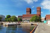 市庁舎 - radhuset、オスロ、ノルウェー — ストック写真