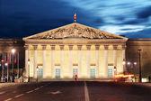 Palais Bourbon - French Parliament, Paris, Assemblee Nationale — Stock Photo