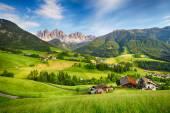 Dolomites alps, Mountain - Val di Funes — Stock Photo